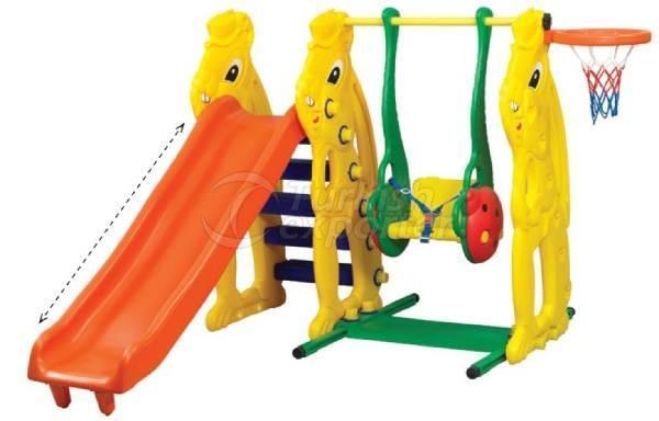 Squirrel Slide Set&Swing