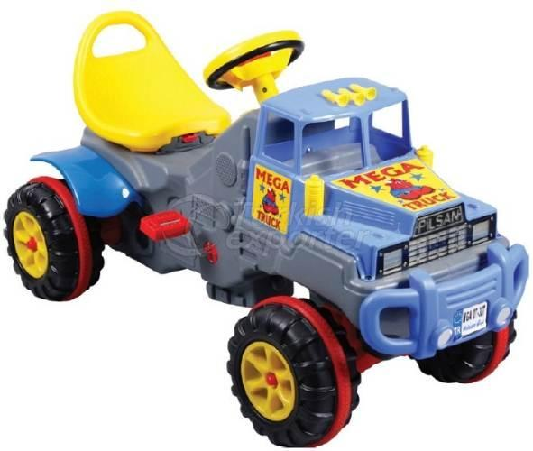 Truck with Pedal Chained Mega