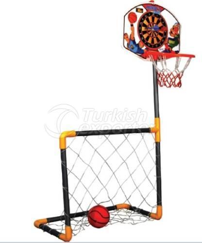 Basketball - Dart - Football