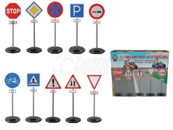 Traffic Sign Set