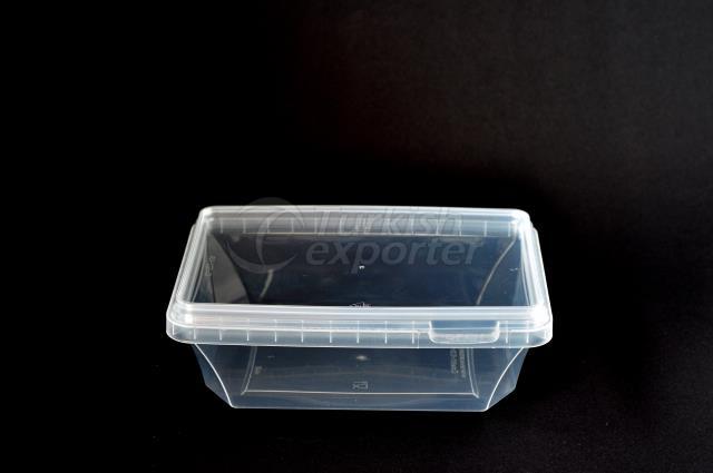 800 ml Plastic Rectangular Box