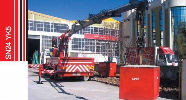 Truck Mounted Hydraulic Mobile Crane SN24 YK5