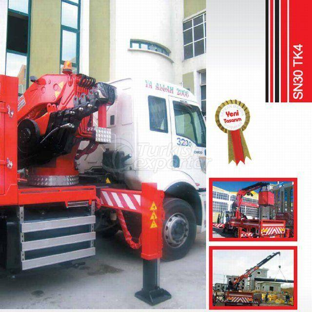 Truck Mounted Hydraulic Mobile Crane SN30 TK4