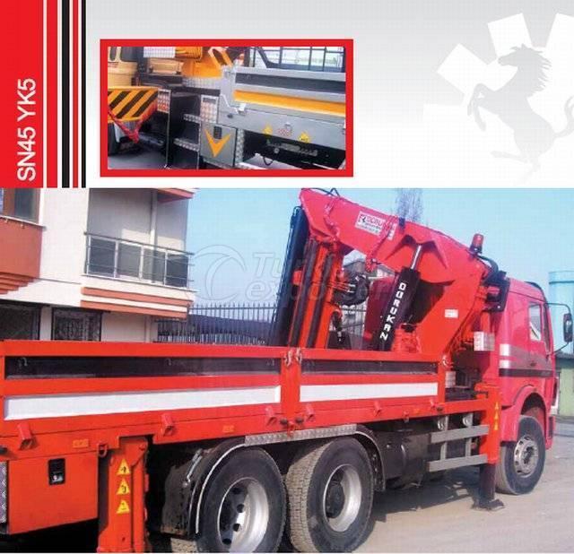 Truck Mounted Hydraulic Mobile Crane SN45 YK5
