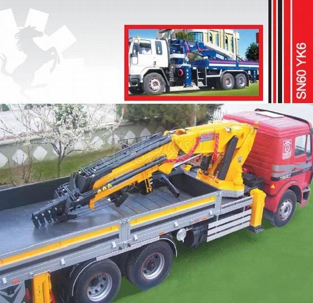 Truck Mounted Hydraulic Mobile Crane SN60 YK6