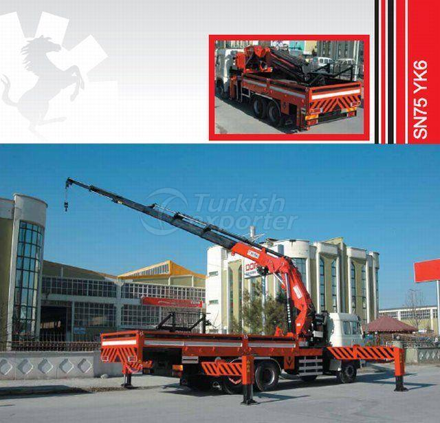 Truck Mounted Hydraulic Mobile Crane SN75 YK6