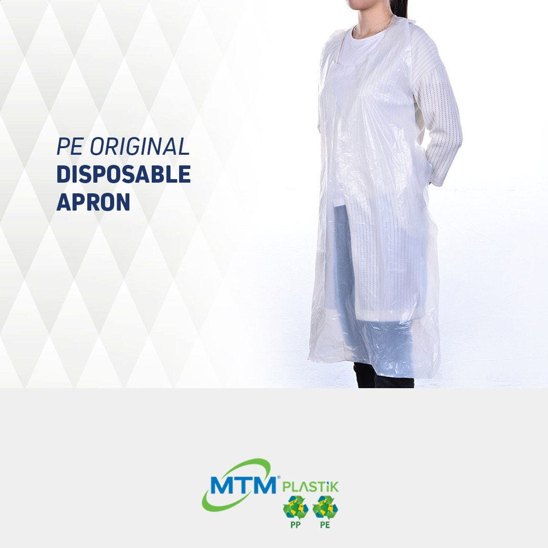 FDA APPROVED DISPOSABLE PE APRONS