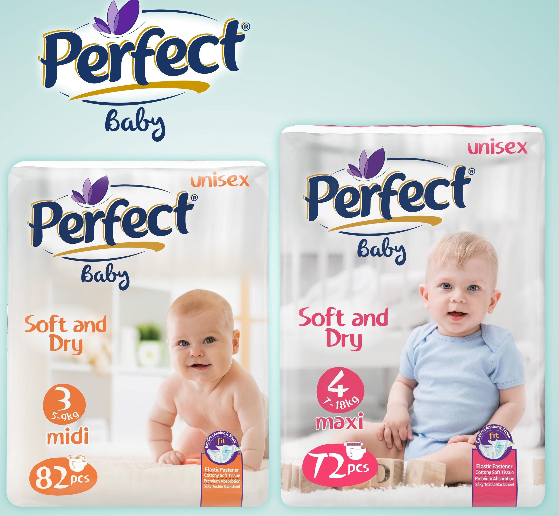 Perfect Baby Mega-Pack Baby Diaper