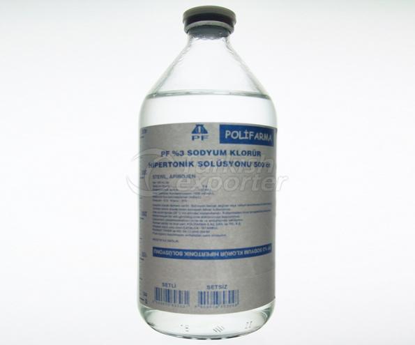 PF 3 NaCl İ.V. İnf. Çöz. 500 ml