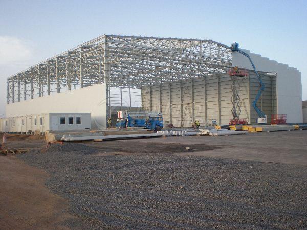 Djibouti Airplane Hangar Projects