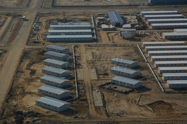 مشروع  في كازخستان- مخيم ل 6500 شخص