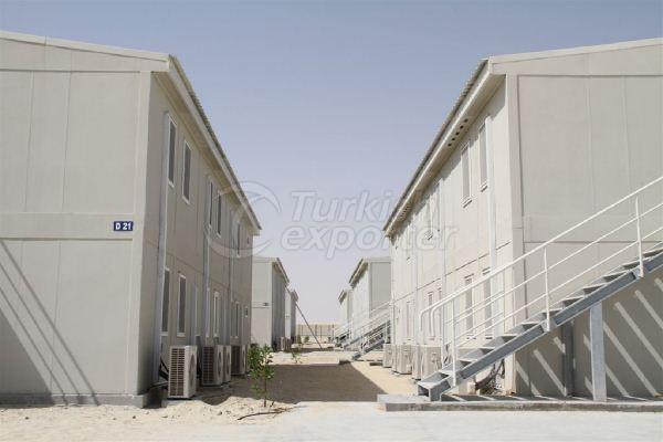 Проект Habshan Абу-Даби лагерь для 6,000 рабочих