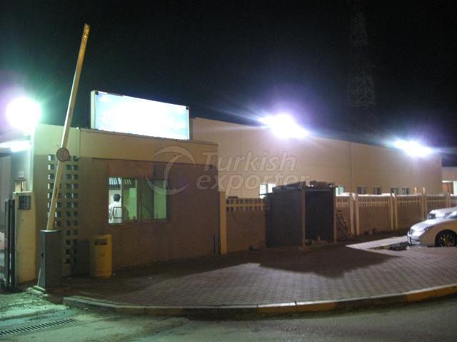 مشروع مركز شرطة الخير في ابو ظبي