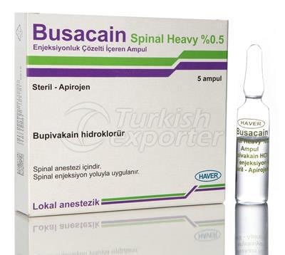 Busacain Spinal