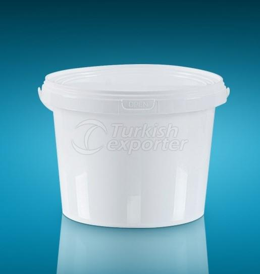 Round Packages Bucket 4LT