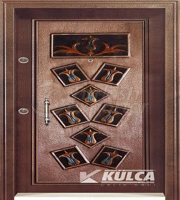 b-03 Copper steel door