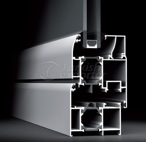 60T Aluminum Doors Windows