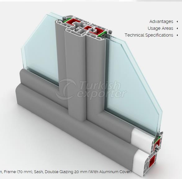 DPK PVC Aluminum Coated Series