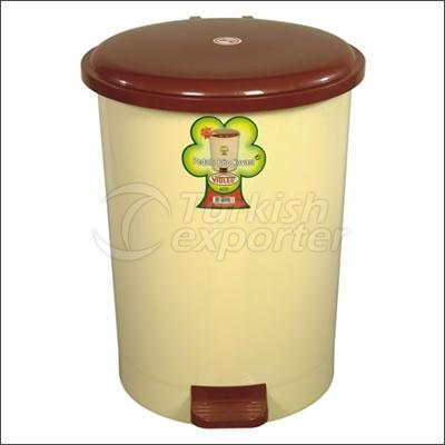 Pedal Round Trash Can 40 lt