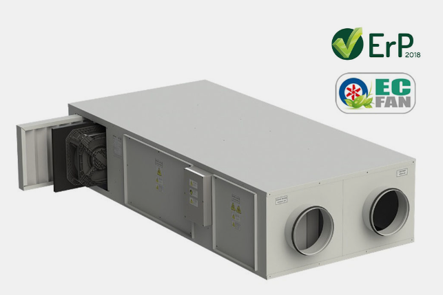 VHR CF EC High Efficiency Heat Recovery Unit