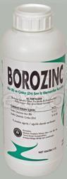 Plant Nutrition Products Borozinc