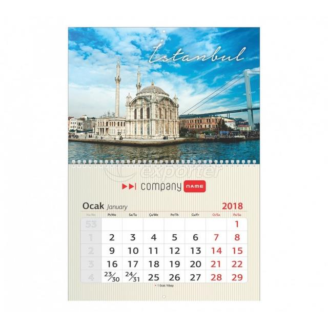 Wall Calendar With Hanging Hole