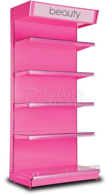 Cosmetics Displat Wall Shelf