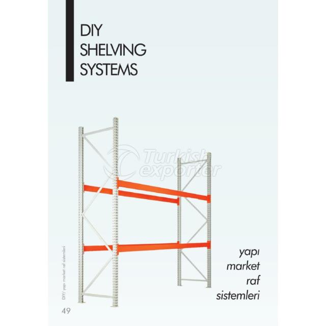 Sistemas de prateleiras DIY