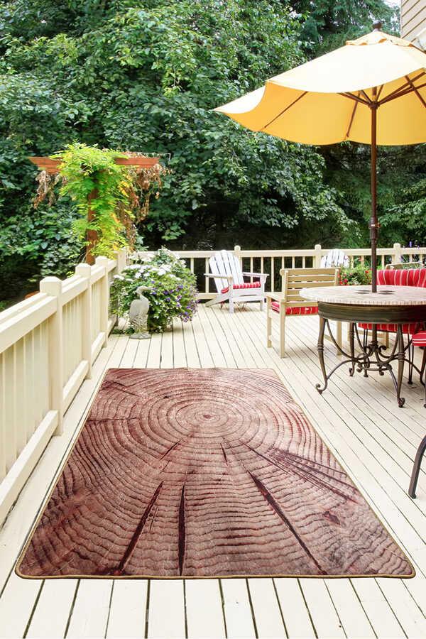Balcony Carpet - Wood Djt