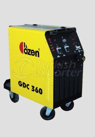 Máquinas de Solda Mig Mag GDC 360
