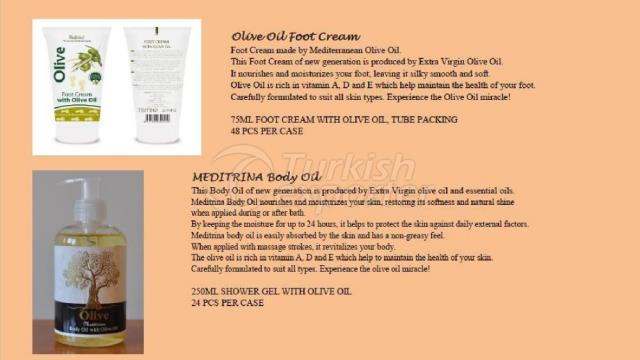 Foot Cream - Body Oil