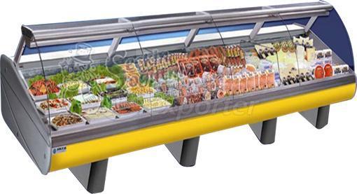 ثلاجات عرض منتجات غذائية