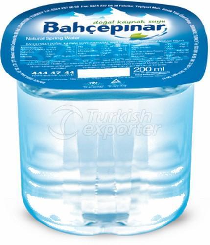 Eau de source naturelle 200 ml