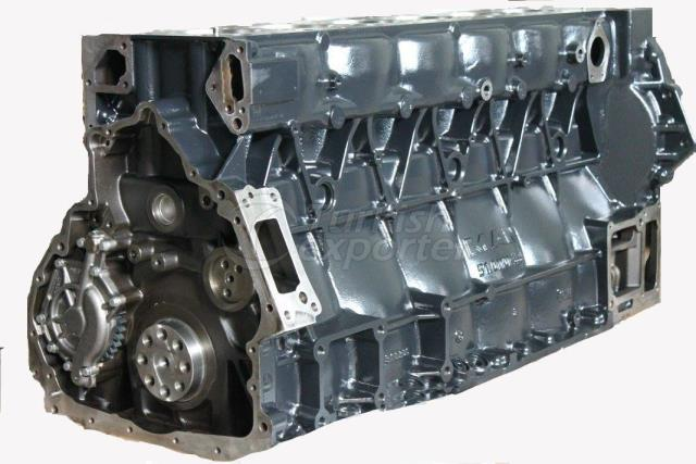 Short Long Block Engine D2676