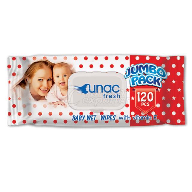 Un1003 - Unacfresh 120pcs Vermelho