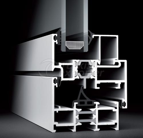 Janelas de portas de alumínio 60W