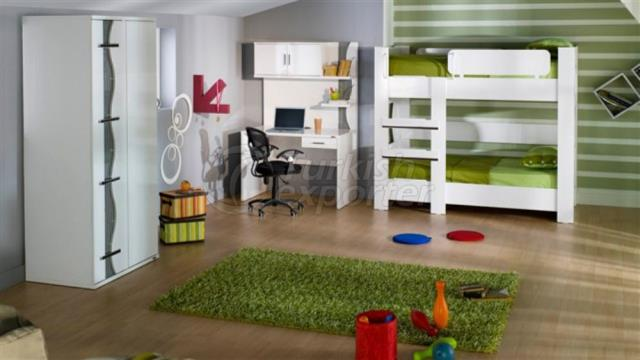 Housing Concept-Teen and Kids Room