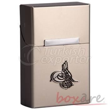 Sultan's Signature White Plastic Cigaratte Case Short 506 1