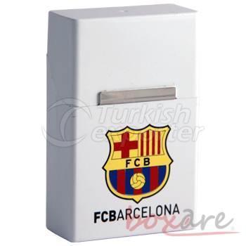 Barcelona White Plastic Cigar Box Short 1