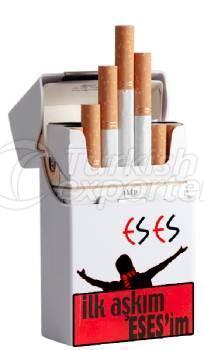 Eskisehirspor Coffret à cigares en plastique blanc