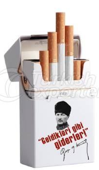 Short à cigares en plastique blanc national