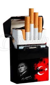 National White Plastic Cigar Box Short