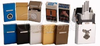 Aluminum Cigar Box (Dekupe, Brass Stone)