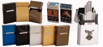 Boîte à cigares en aluminium