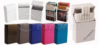 Плстиковая коробка для сигарет