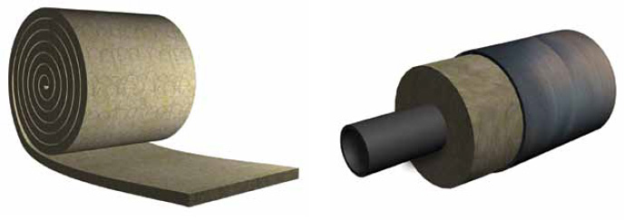 Acoustic and Heat Insulation - Rockwool