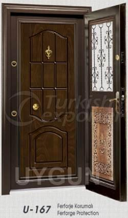 Steel Door Ferforge Serie U167