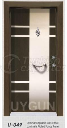 Steel Door Lux Panel U 049