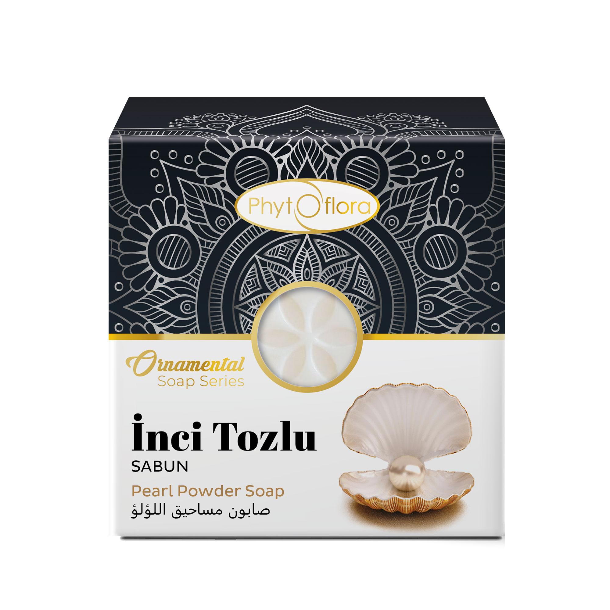 pearl powder herbal soap - ornamental soap series