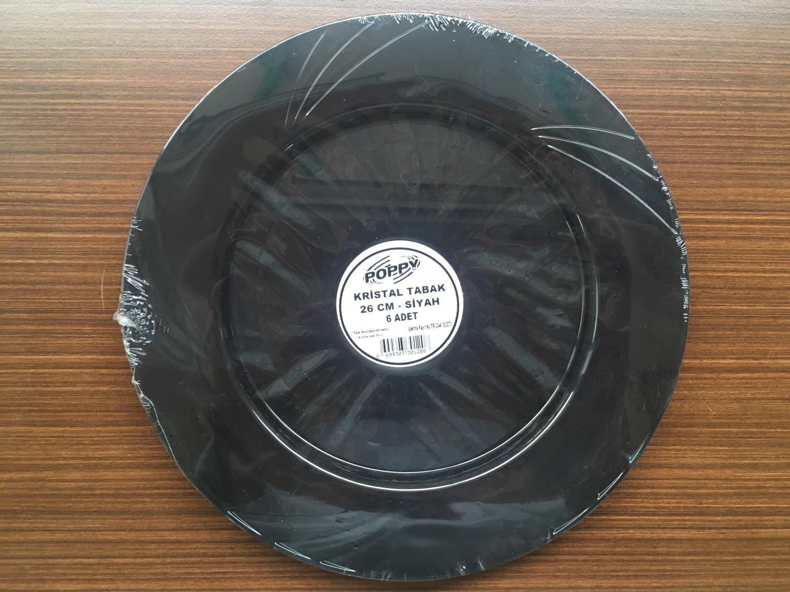 Plastic Crystal Plate 260 mm
